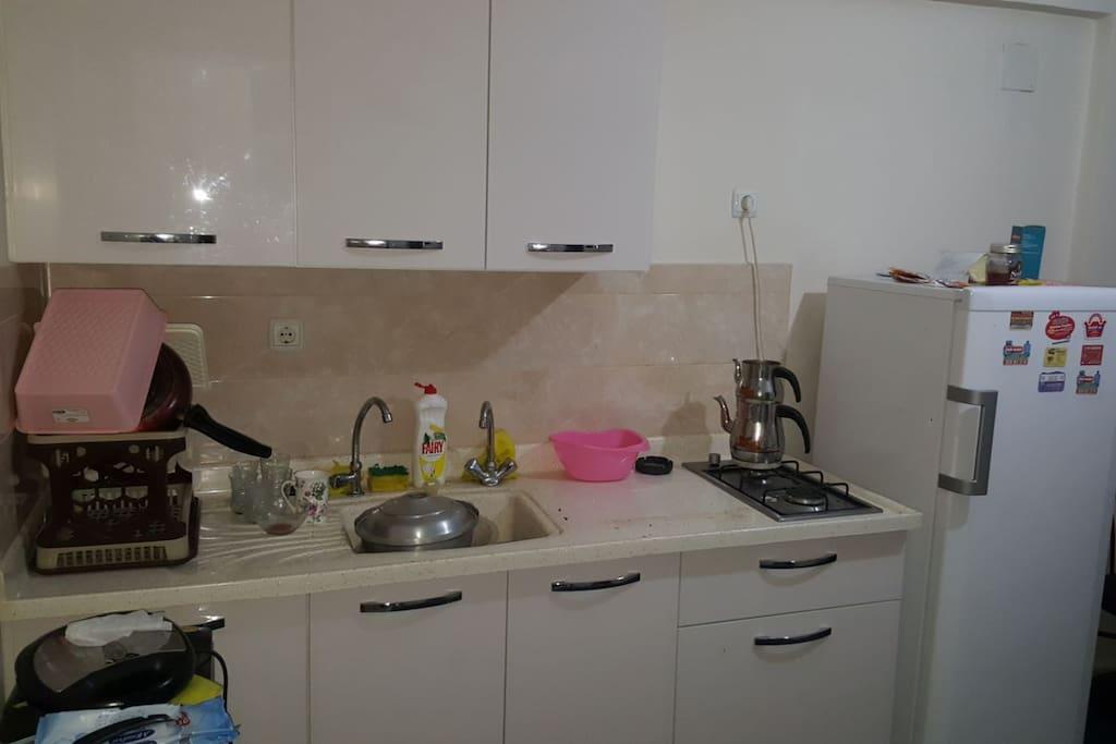 mutfağın diğer kısmı