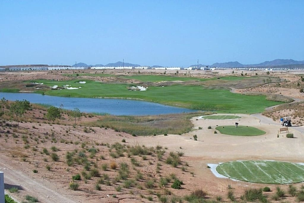 10th tee and fairway (from terrace)