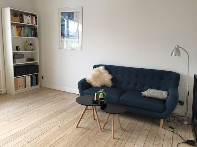 Cosy and minimalistic apartment in lovely area - København - Apartment