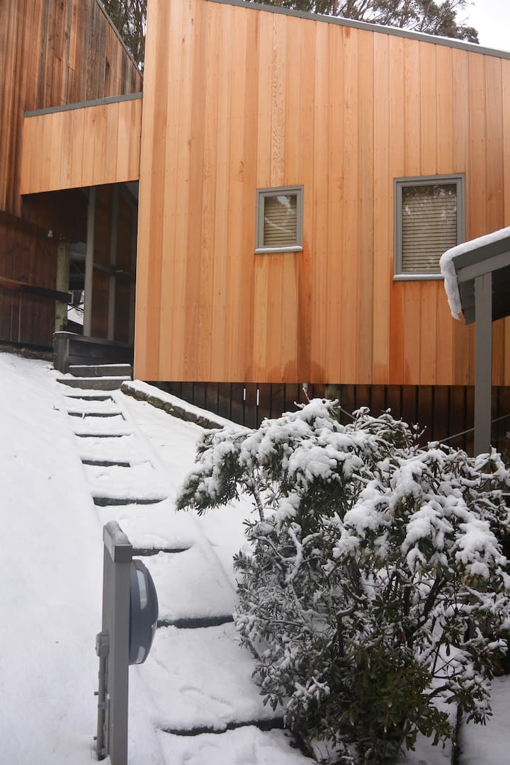 La Neige Cedar loft cabin in Thredbo