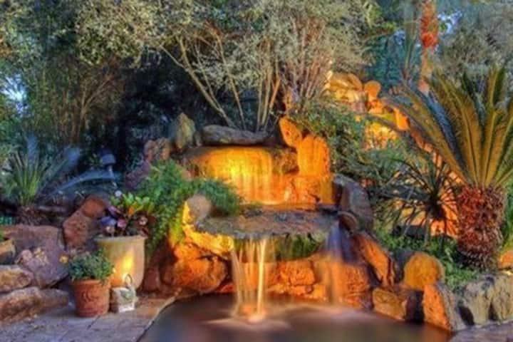 Mediterranean Pool with Heated Spa & Nite Lights.N