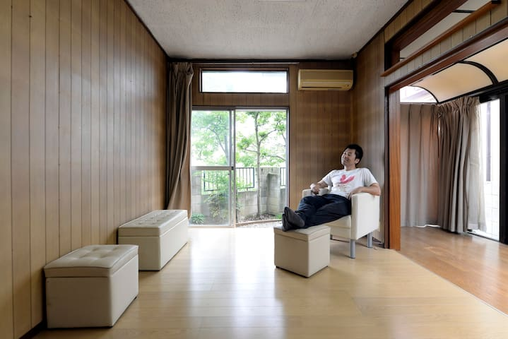 Myo-an -Japanese house with gallery facing river- - Kawagoe-shi - Casa