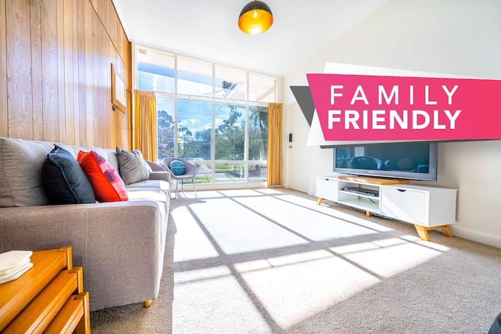 ★Evergreen on Franklin★Family Friendly✔Wifi✔Unique