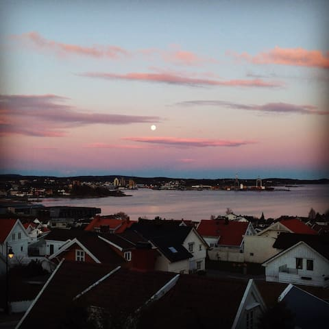 Cosy house vith great view close to beach and town - Larvik - House