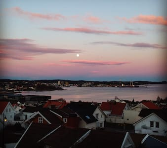 Cosy house vith great view close to beach and town - Larvik