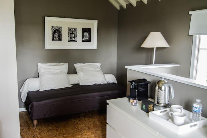 Un lit simple pour la 3ème personne