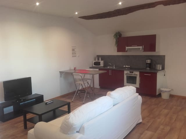 appartement meublé 45m2 - Bourg-Saint-Christophe - Daire
