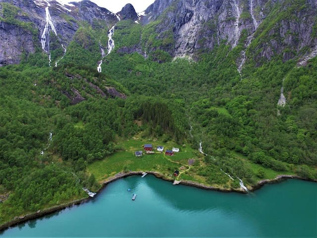 Book a Norwegian fjord...