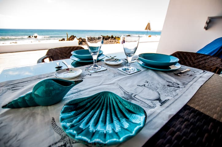 Seashell apartment - Seafront - Punta Mujeres - Appartement