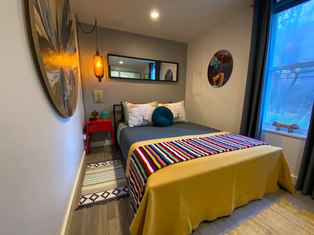 Very cozy with heated floors throughout the first floor guest spaces.