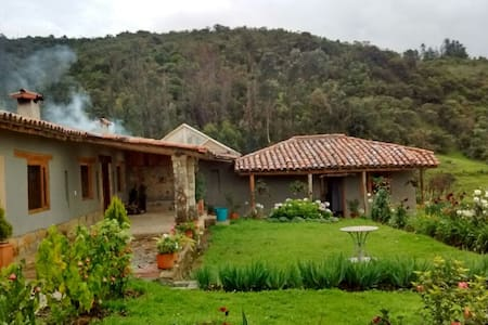 Lovely house on the top of the Andes ! - Guasca - 別荘
