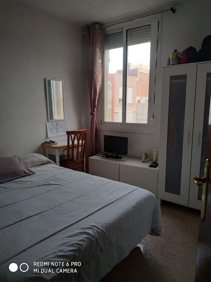 Nice outer room in Barcelona