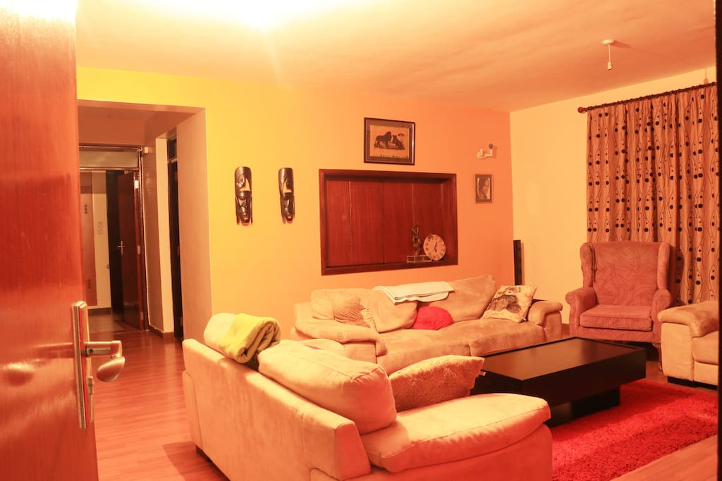 The shared Living room