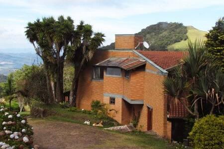Casa de montanha na Serra da Mantiqueira