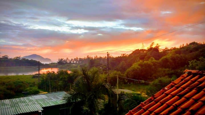 Cabanas Canto Rei Praia do Rosa - Laranja