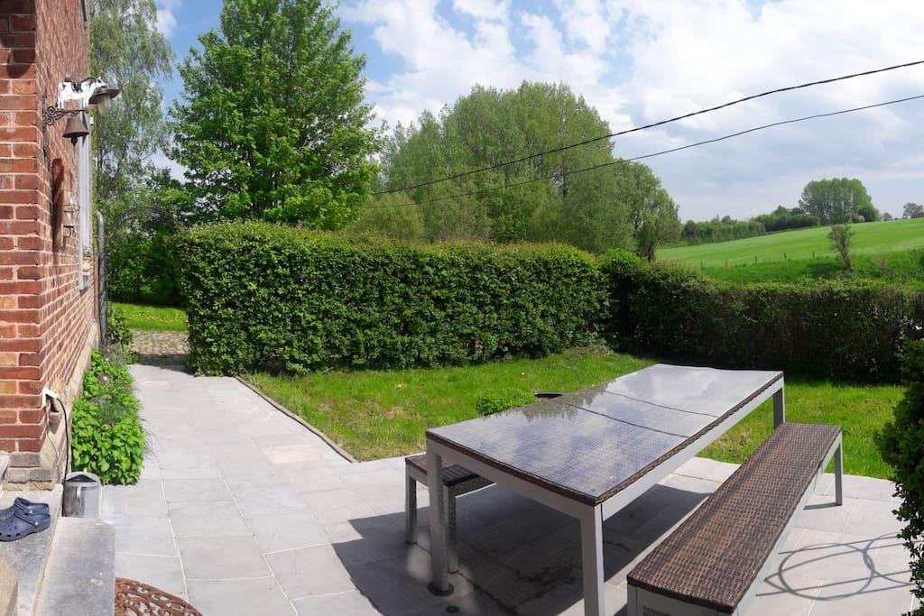 terrace front