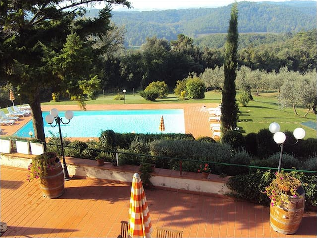 Apartment in Agriturismo with pool and great view