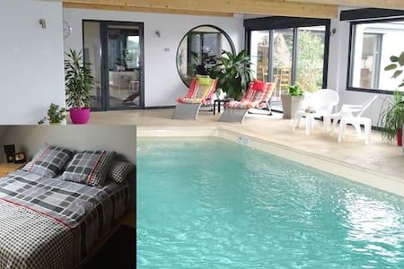 Chambre2,piscine, billard ,fitnessG - Dernancourt - 獨棟