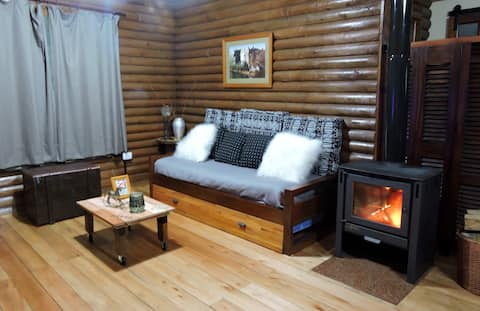 Hermosa, cálida y discreta cabaña en Brandsen