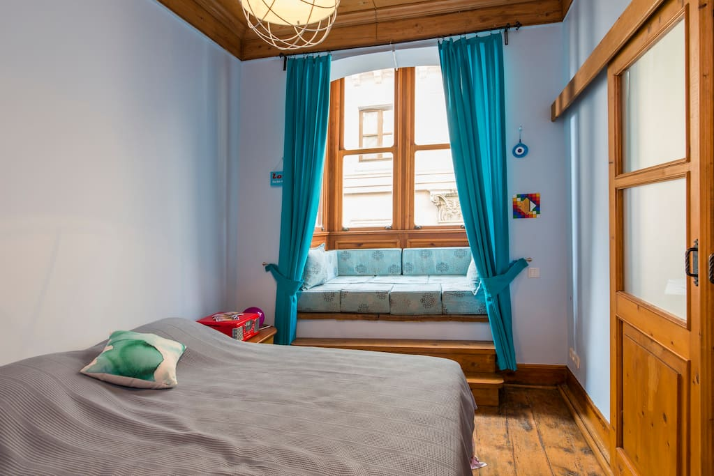 This is one of the best rooms with double bed and Galata Tower view