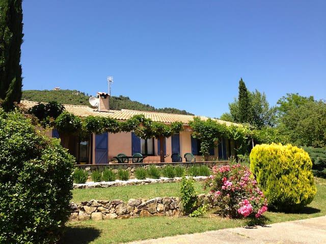 Sunny Provencal Villa w/Heated Pool - Salernes - Haus
