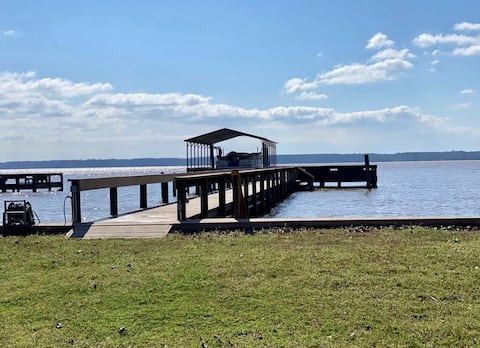 Lake Marion Home with Direct Water Access & Views