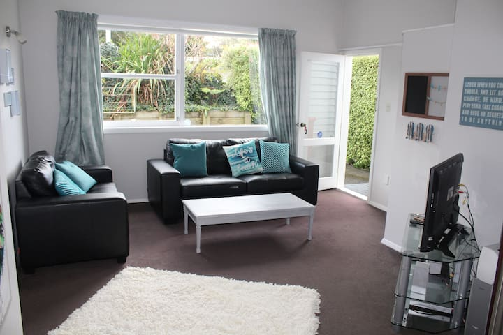 One Bedroom Flat Paraparaumu Beach Kapiti - Paraparaumu - Apartment