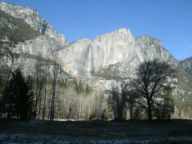 Yosemite Falls, early spring