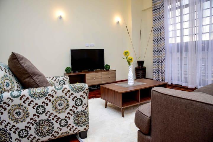 LUXURY 1BR WESTLANDS, NAIROBI WITH GYM,GOOD VIEWS