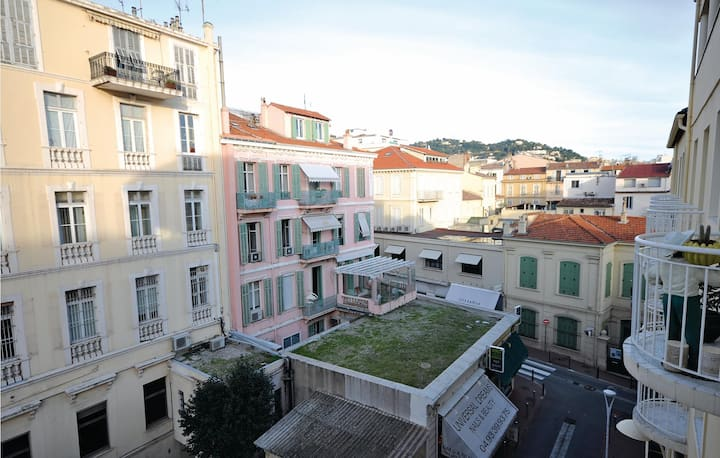 Awesome apartment in Cannes with 0 Bedrooms
