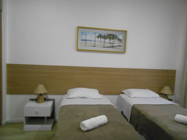Ribeiro 419 | Conjugado bem localizado | 2 pessoas