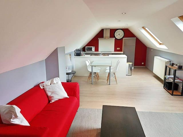 Nice apartment near Brussels