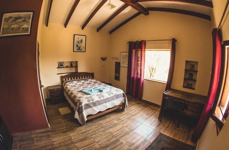 Double room with private bathroom, Hostel Serena