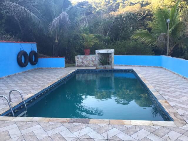 Chácara com piscina