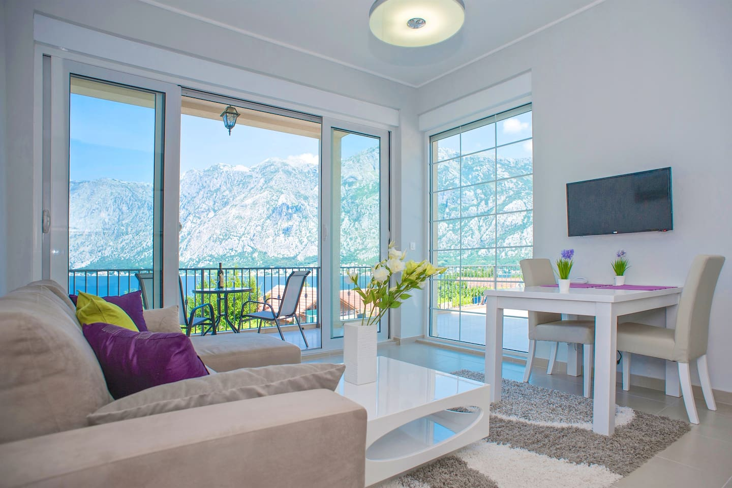 A view and luxury you can not beat!