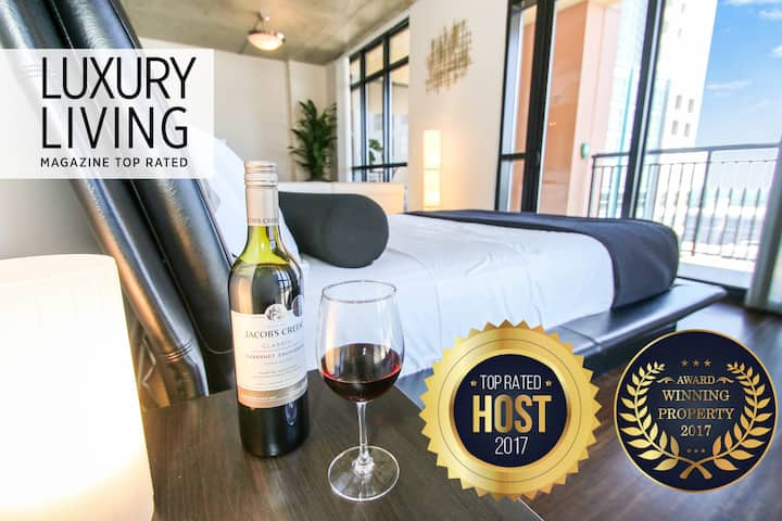 WOW! Amazing Luxury Penthouse Style Loft-HighRise!