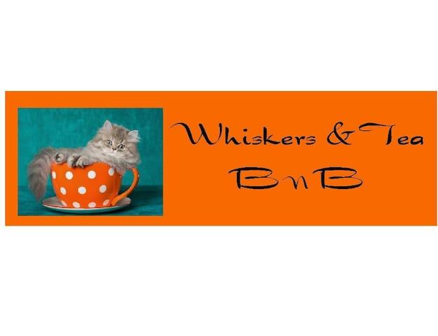 Whiskers & Tea BnB   (2 queen bedrooms)