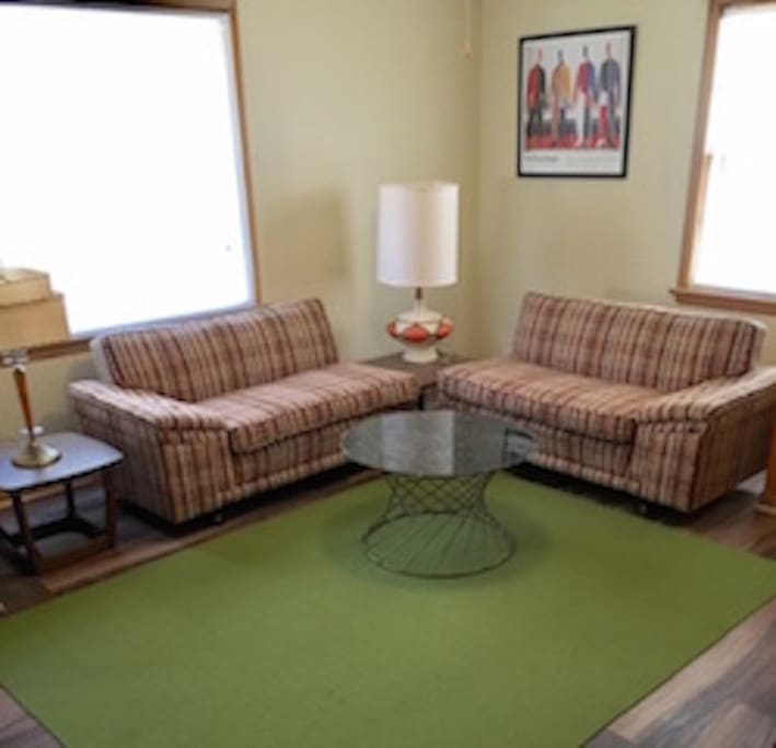 Living room sectional.