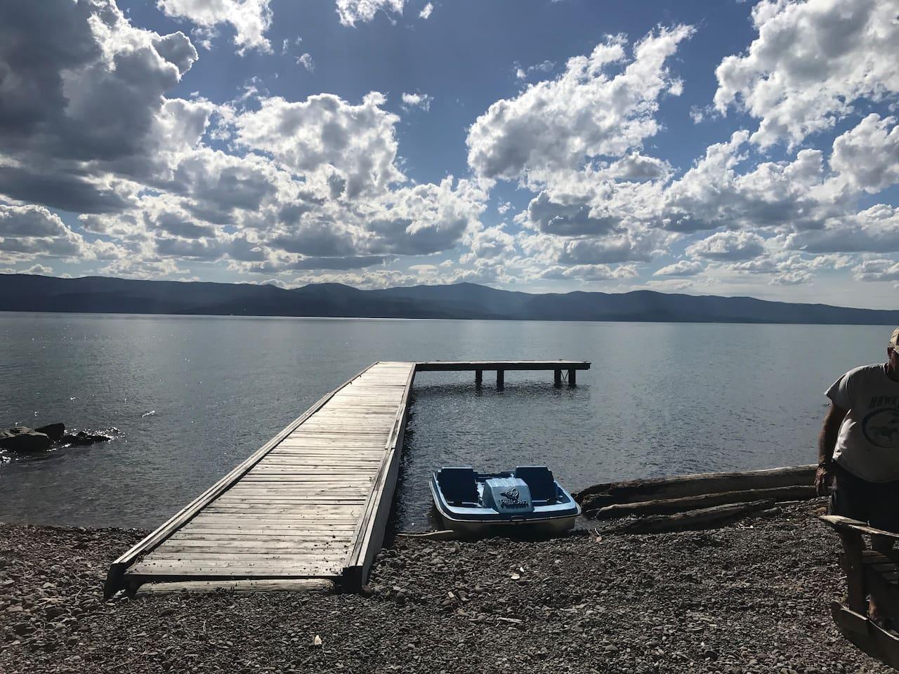 Gorgeous Flathead Lake,Bigfork Montana in Woods Bay!