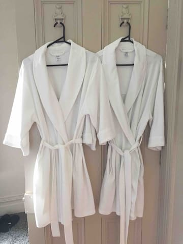 Dressing gowns for your convenience