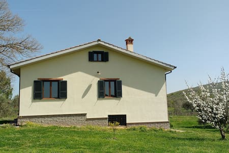 Mansard in the Tuscia countryside - House