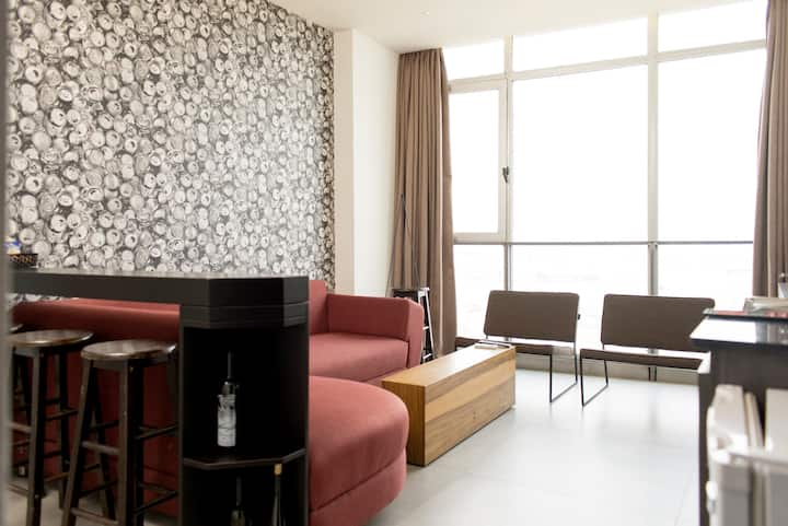 Beirut 'Port View' 1-Bedroom Apartment