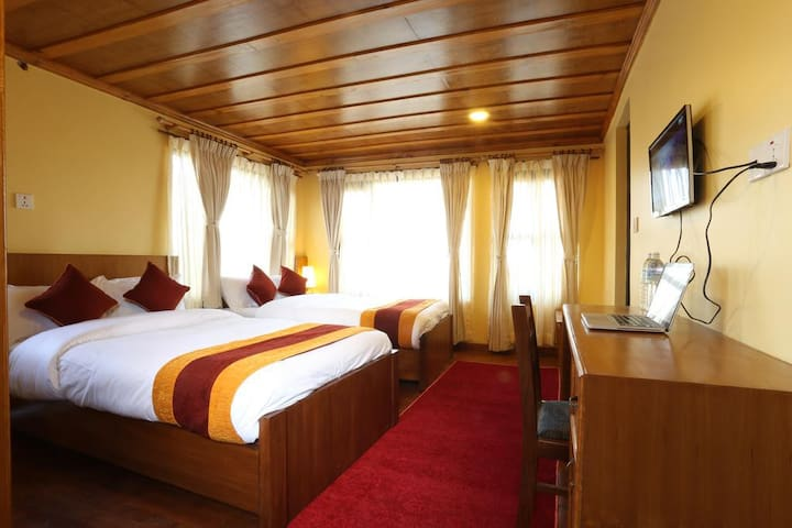 Junior Suite Room at Balthali Mountain Resort