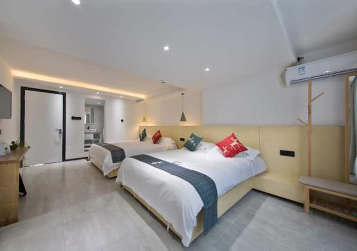 厦大海边舒适双床豪华家庭出游选择