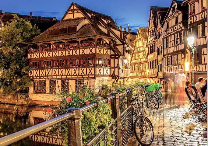 Superbe studio Strasbourg, calme en pleine nature - Strasbourg