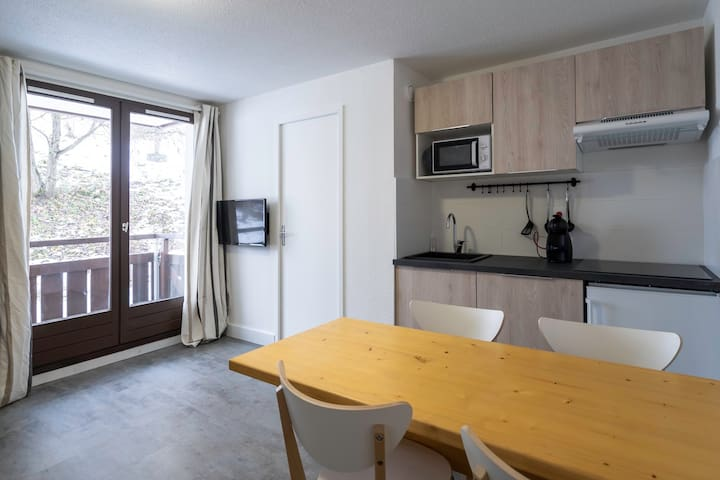 Appartement Prapoutel les 7 laux 2 pièces + cabine