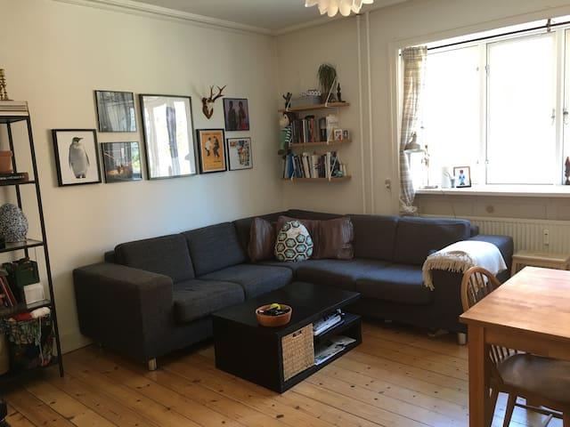 2 room apartment in central Valby, cosy and quiet - København - Apartment