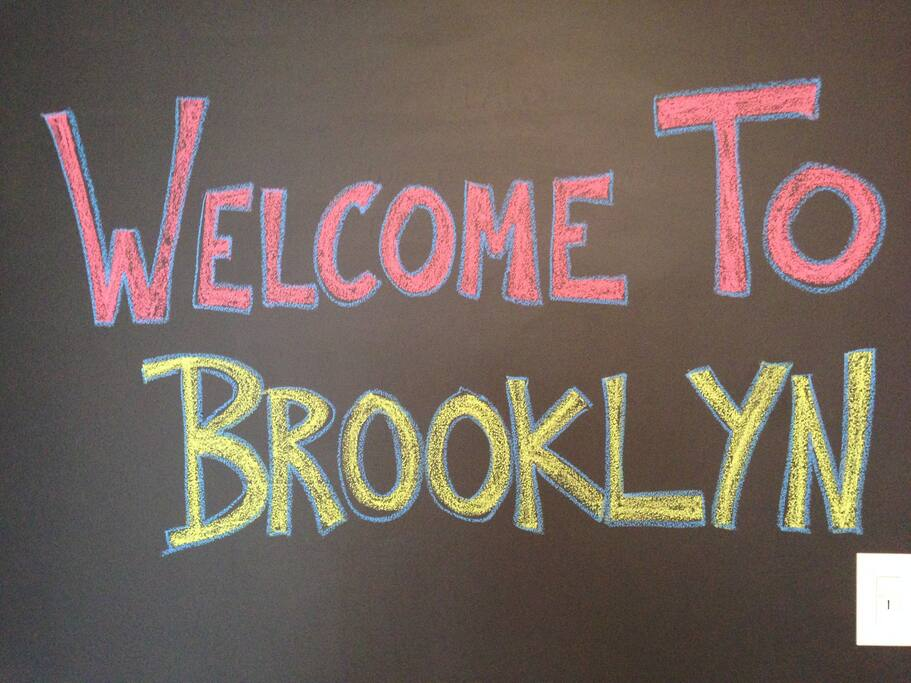 Welcome to beautiful Brooklyn!