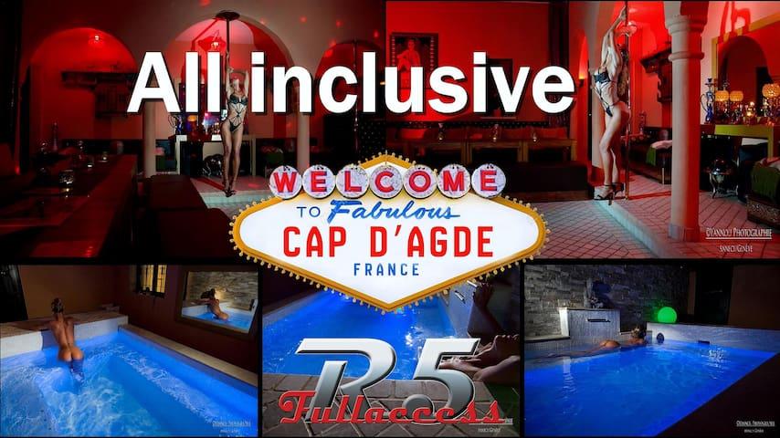 R5 Village Cap d'Agde Libertine Property
