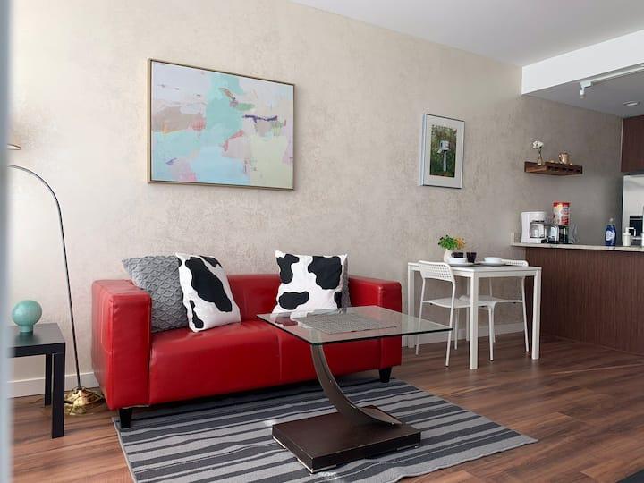 Super New 1 Bedroom Apartment near YVR